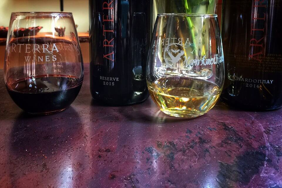 Arterra clean wine