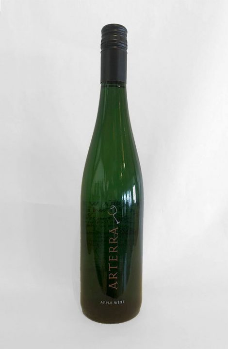 Arterra Apple wine bottle