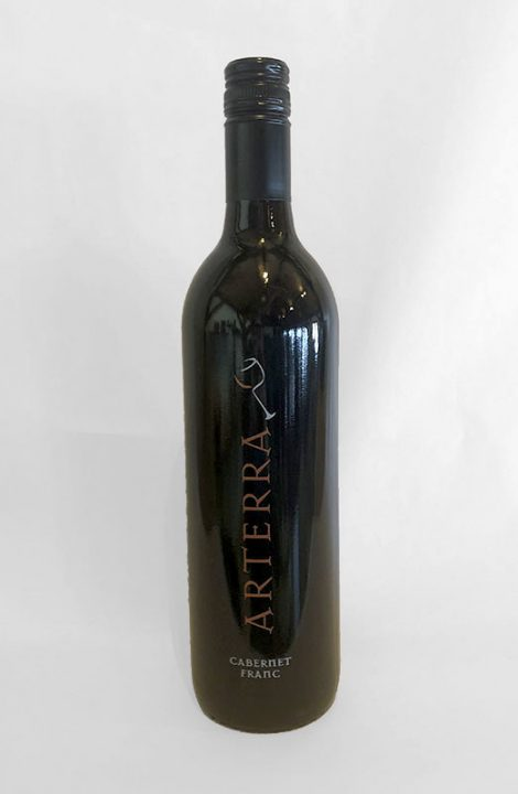 Arterra Cabernet Franc wine bottle