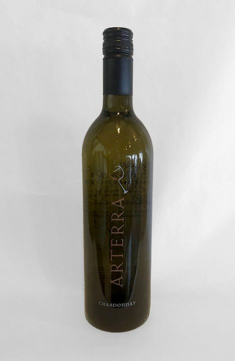Arterra Chardonnay wine bottle