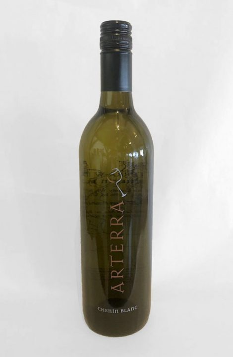 Arterra Chenin Blanc wine bottle