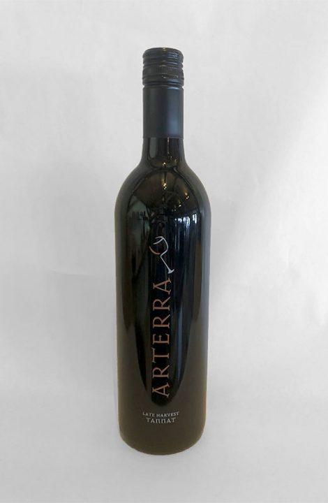 Arterra Late Harvest Tannat wine bottle