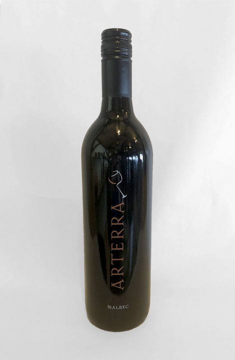 Arterra Malbec wine bottle