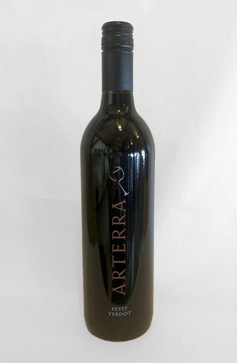 Arterra Petit Verdot wine bottle