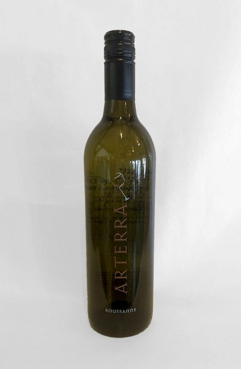 Arterra Roussanne wine bottle