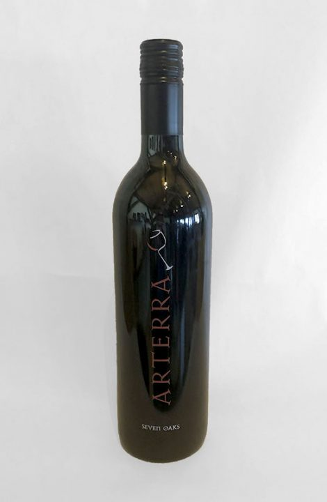 Arterra Seven Oaks wine bottle