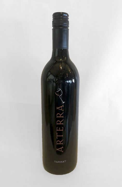 Arterra Tannat wine bottle