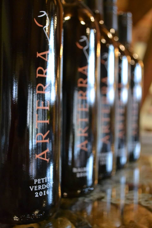 Arterra Wine shipping club bottles
